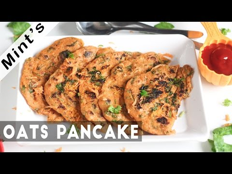 Oats pancake recipe in hindi healthy recipes indian vegetarian oats pancake recipe in hindi healthy recipes indian vegetarian recipes ep 146 forumfinder Image collections